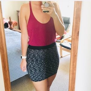 UO BLACK MINI SKIRT